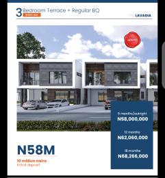 3 bedroom Terraced Duplex House for sale 3 Bedroom Terrace Duplex In Urban Prime Estate Abraham Adesanya Ogombo Ajah Lagos