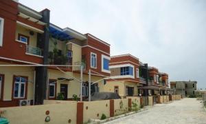 4 bedroom Terraced Duplex House for rent Buena Vista Estate, Orchid Road chevron Lekki Lagos