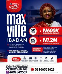 Serviced Residential Land for sale ... Ibadan Oyo