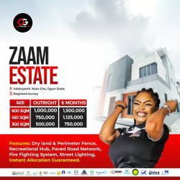 Residential Land Land for sale Adekoyemi Atan - ota With registered Survey Ado Odo/Ota Ogun