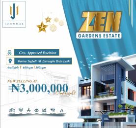Residential Land for sale Onimu Tagbati Eleranigbe Ibeju-Lekki Lagos